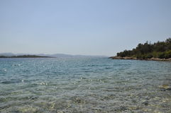 Mediterranean shore  Stock Image
