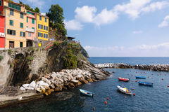 Mediterranean Shore Royalty Free Stock Photos