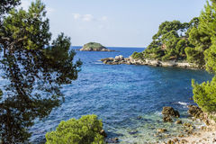 The mediterranean shore Royalty Free Stock Photos