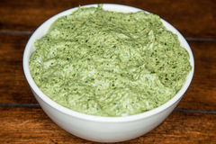 Mediterranean Spinach Artichoke Dip Stock Photos