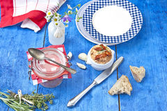 Mediterranean Spreads Royalty Free Stock Images