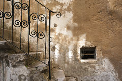 Old Stairs detail Royalty Free Stock Images
