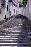 Mediterranean stairway Stock Photo