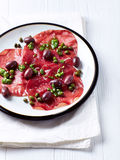 Mediterranean-Style Antipasti Royalty Free Stock Photo
