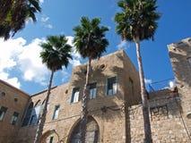 Mediterranean style house Akko Israel Stock Photos