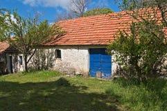 Mediterranean style small barn Stock Image