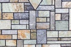 Mediterranean style stone wall Royalty Free Stock Photo