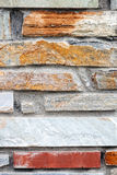 Mediterranean style stone wall Stock Photography