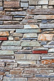 Mediterranean style stone wall Stock Images