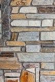Mediterranean style stone wall Stock Photo