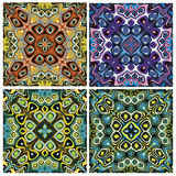 Mediterranean Style Tile Pattern Royalty Free Stock Images
