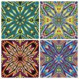 Mediterranean Style Tile Pattern Stock Image