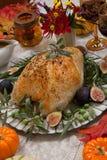 Mediterranean Style Whole Roasted Turkey Breast Stock Photography