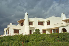 Mediterranean Summer House Royalty Free Stock Photography