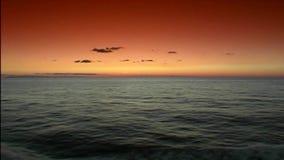 Mediterranean sunrice. stock video footage