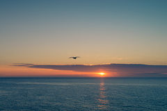 Mediterranean sunrise royalty free stock photography