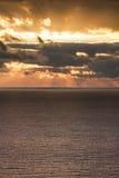 Mediterranean sunrise Stock Images