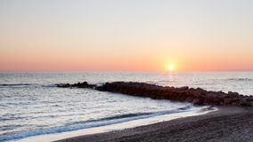 Mediterranean Sunset Royalty Free Stock Images