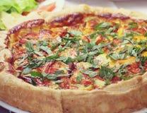 Mediterranean tart Stock Image