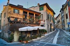 Mediterranean cityscape Stock Photos