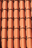 Mediterranean terracotta tiled roof Royalty Free Stock Photography
