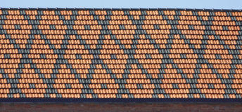 Mediterranean Tiled Roof Royalty Free Stock Photos