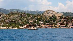 Mediterranean town Stock Photography