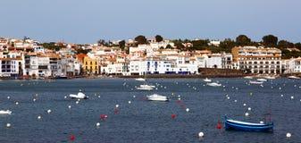 Mediterranean town. Cadaques Royalty Free Stock Photos