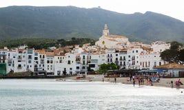 Mediterranean town at Catalunia Royalty Free Stock Photos