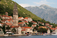 Mediterranean town - Perast, Montenegro Stock Photography
