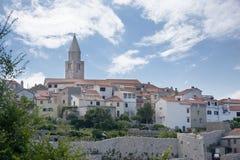 Mediterranean Town of Vrbnik, Croatia Royalty Free Stock Image