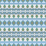 Mediterranean Traditional Floral Decor Royalty Free Stock Photo