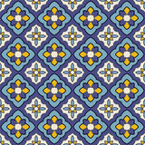 Mediterranean vector pattern. Mediterranean style vector pattern texture Royalty Free Stock Photography