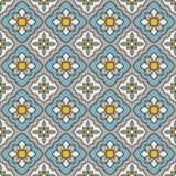 Mediterranean vector pattern. Mediterranean style vector pattern texture Royalty Free Stock Image