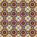 Mediterranean vector pattern Royalty Free Stock Images