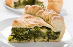 Mediterranean Vegetable Pie. Stock Photography