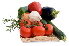 Mediterranean vegetables Stock Photos