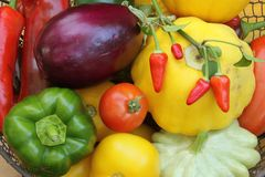 Mediterranean vegetables Royalty Free Stock Photos