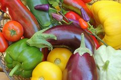 Mediterranean Vegetables Stock Photo