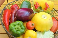 Mediterranean vegetables Stock Images