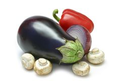 Mediterranean Vegetables stock images