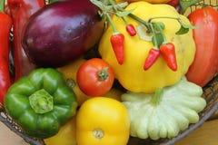 Mediterranean vegetables Stock Photos