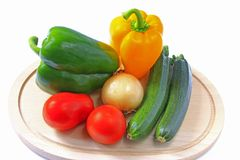 Mediterranean vegetables Royalty Free Stock Photography