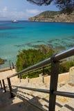 Mediterranean view Royalty Free Stock Image