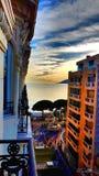 Mediterranean view Stock Photography