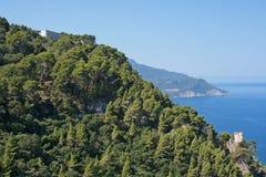 Mediterranean views in western Mallorca Royalty Free Stock Photos