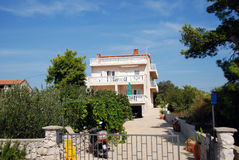 Mediterranean villa Royalty Free Stock Images