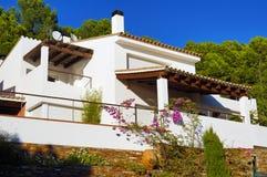 Mediterranean villa Stock Images