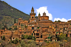 Mediterranean village Stock Images