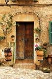 Mediterranean village royalty free stock images